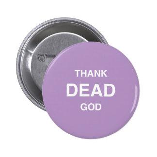 Thank Dead God! Button