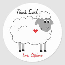Thank Ewe Sheep Thanks Sticker