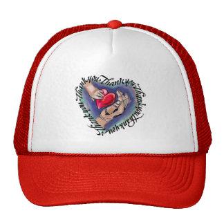 Thank Full Heart Hat
