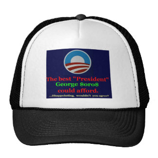 Thank George for his support! Trucker Hat