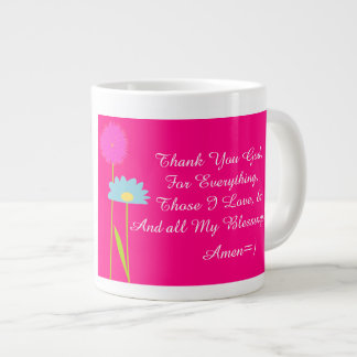 Thank God 4 Everything Mug!~ 20 Oz Large Ceramic Giant Coffee Mug