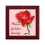 Thank God for Beauty Trinket Box