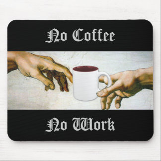 Thank God for Coffee Mouse Pads