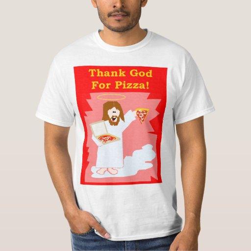 Thank God For Pizza Men's T-Shirt