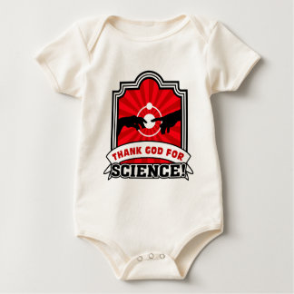 Thank God for Science! Baby Bodysuit