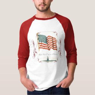 Thank God I Am An American  Men's Shirt