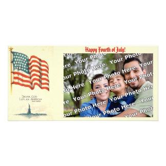 Thank God I am an American Photo Card