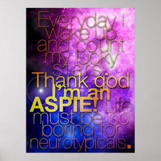 Thank God I m an Aspie Poster