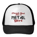 Thank god I'm a Metal girl Trucker Hat