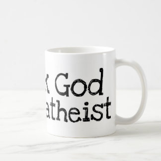 Thank god I'm an atheist Coffee Mug
