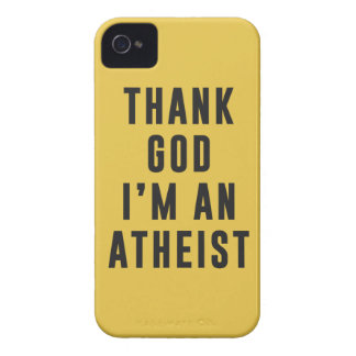 Thank God, I'm an atheist iPhone 4 Cover