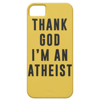 Thank God, I'm an atheist iPhone SE/5/5s Case