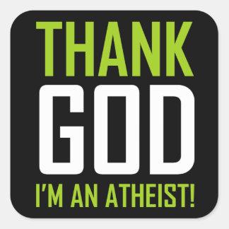 Thank God I'm An Atheist Stickers