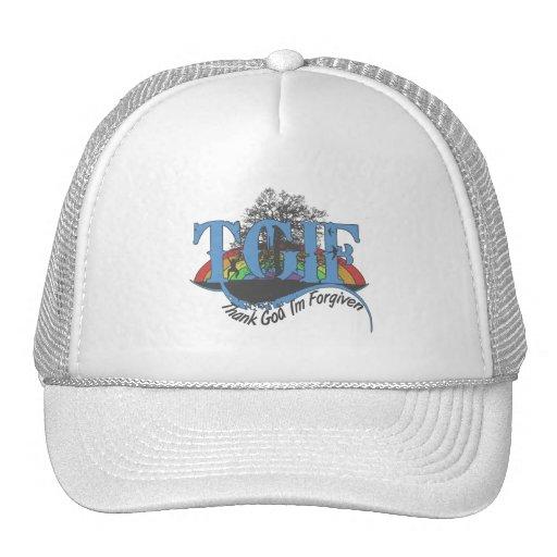 Thank God I'm forgiven TGIF Trucker Hat