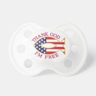Thank God Im Free Pacifier