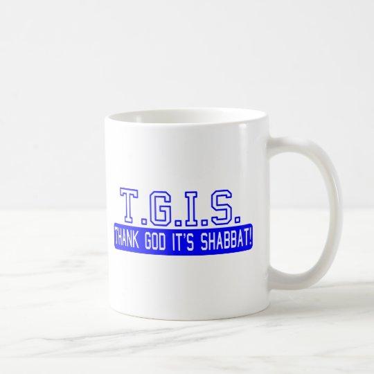 Thank God it's Shabbat! Coffee Mug
