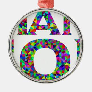 Thank God Metal Ornament