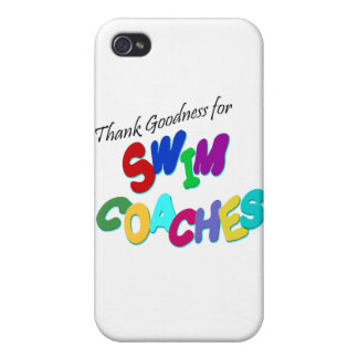 Thank Goodness for Swim Coaches iPhone 4 Cover