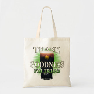 Thank Goodness I'm Irish Tote Bag