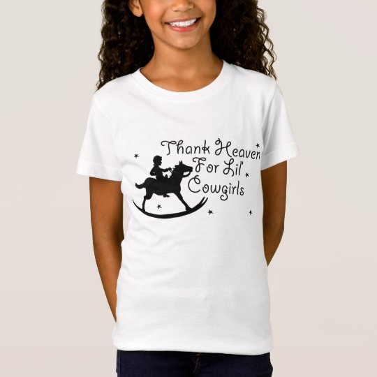 Thank Heaven For Lil' Cowgirls T-Shirt