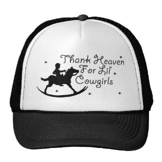 Thank Heaven For Lil' Cowgirls Trucker Hat