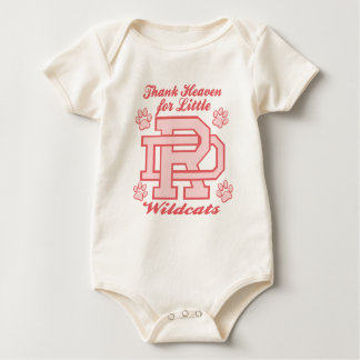 Thank Heaven for Little DR Wildcats Baby Bodysuit