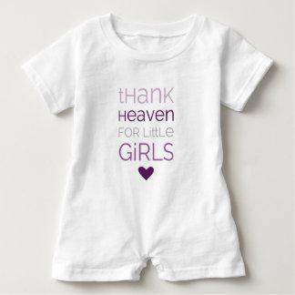 Thank Heaven for Little Girls 02 Baby Romper