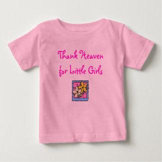 Thank Heaven, for Little Girls Baby T-Shirt