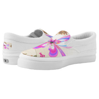Thank Heaven for Zipz Slip On-Shoes US-Women Printed Shoes