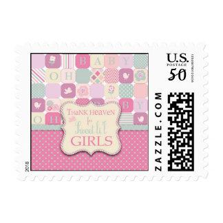 Thank Heaven Girl Stamp B