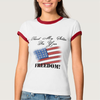 Thank My Soldier Tee Shirt