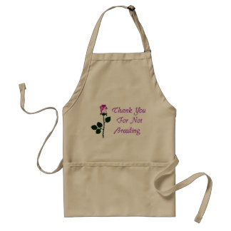 Thank Non-Breeders Adult Apron