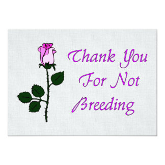 Thank Non-Breeders Card