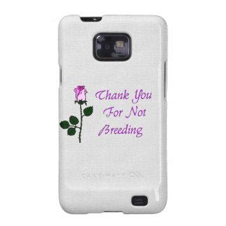 Thank Non-Breeders Samsung Galaxy S2 Case