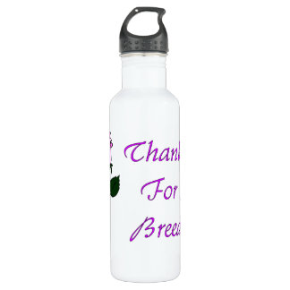Thank Non-Breeders Stainless Steel Water Bottle
