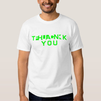 Thank or fuu you? t shirt
