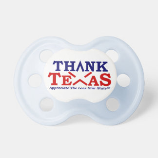 THANK TEXAS Baby Blue Pacifier