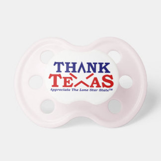 THANK TEXAS Pretty Pink Pacifier