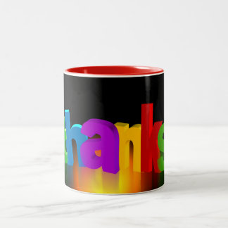 thank-you-140227 thank you letters thank you very Two-Tone coffee mug