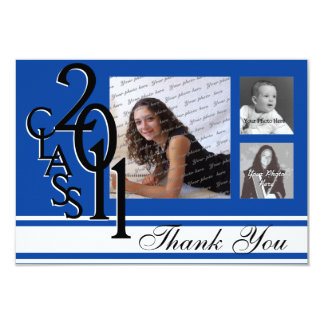 Thank You 2011 Graduation Card