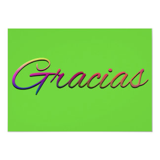thank-you-394201  GRACIAS SPANISH LANGUAGE THANKFU Card