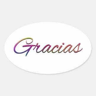 thank-you-394201  GRACIAS SPANISH LANGUAGE THANKFU Stickers