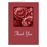 THANK YOU Administrative Professionals Day RED Greeting Card