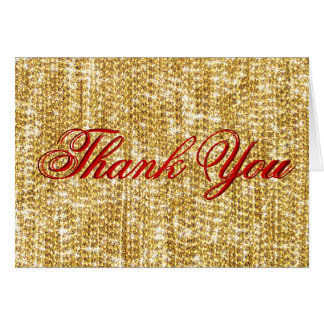 Thank You - All the Gold in the World Card