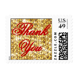 Thank You - All the Gold in the World Postage