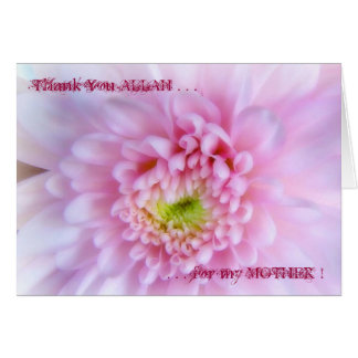 Thank You ALLAH for My MOTHER ! Card