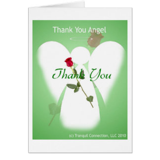 Thank you Angel Card