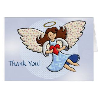 Thank You Angel Greeting Card
