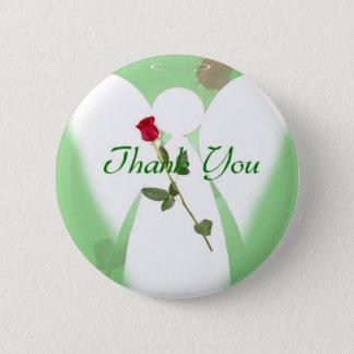 Thank you Angel Pinback Button