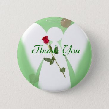 TranquilConnection Thank you Angel Pinback Button
